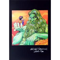 "ABAO Sérigraphies & posters Gotlib - Sérigraphie "" Gai! Gai! Marrons-nous!"""