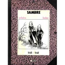 Bandes dessinées Sambre 02 TT 1500 ex. + sérigraphie num & s.