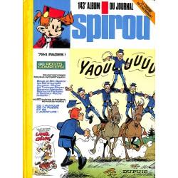 ABAO Bandes dessinées Spirou album n°143