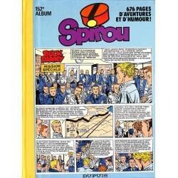 Bandes dessinées Spirou album n°152