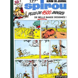 Bandes dessinées Spirou album n°117
