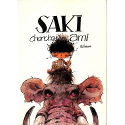Bandes dessinées Saki et Zunie 01