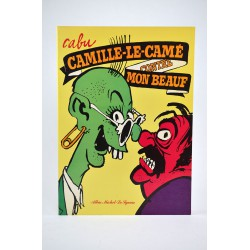 Bandes dessinées Camille-le-camé contre mon beauf