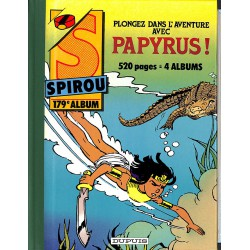 Bandes dessinées Spirou album n°179