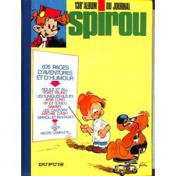 ABAO Bandes dessinées Spirou album n°138