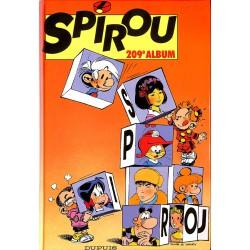 Bandes dessinées Spirou album n°209