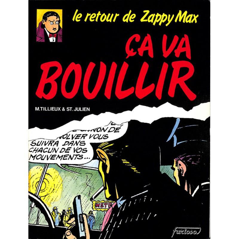 ABAO Bandes dessinées Le retour de Zappy Max