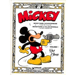 Bandes dessinées Mickey (Coll. L'Intégrale de Mickey) 01