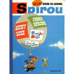 ABAO Bandes dessinées Spirou album n°103