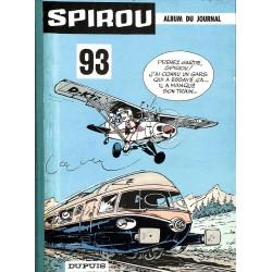 ABAO Bandes dessinées Spirou album n°093