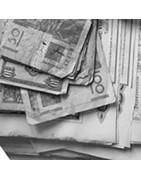 Billets, actions, monnaies