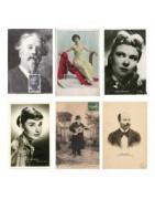 Cartes postales anciennes de personnalités