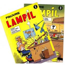 [BD] Lambil (Willy) - Pauvre Lampil 02 et 03. EO.