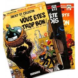 [BD] Walthéry (François) - Jacky et Célestin. 3 volumes. EO.