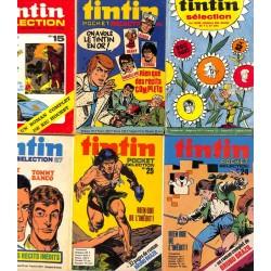 [BD | Périodiques] Tintin Pocket Sélection. 6 livraisons.