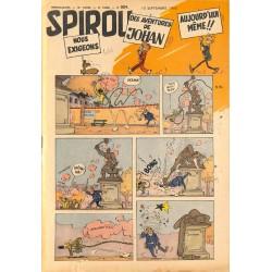 [BD | Périodiques] Spirou. 29 livraisons. 1953 et 1961.