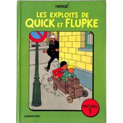 [BD] Hergé - Quick et Flupke. Recueils 1 à 5.