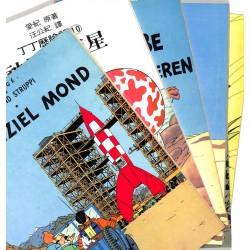 [BD] Hergé - Tintin en langue étrangère. 6 volumes.