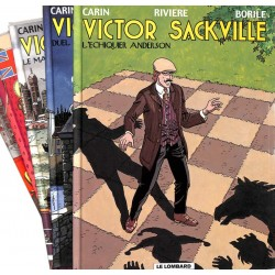 [BD] Carin (Francis) - Victor Sackville. 5 volumes. EO.